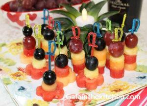 Photo Mini Bites from Fruits