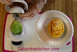 Photo How serve a mango fancy way