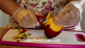 Photo How to serve mango on a stick easy way 1