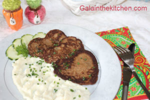 Photo Russian Chicken Liver Pancakes