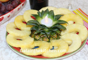 Serving Pineapple Photo