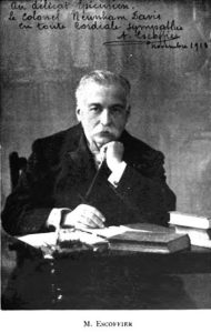 Photo Chef Auguste Escoffier