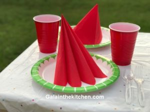 How to fold paper napkins easy