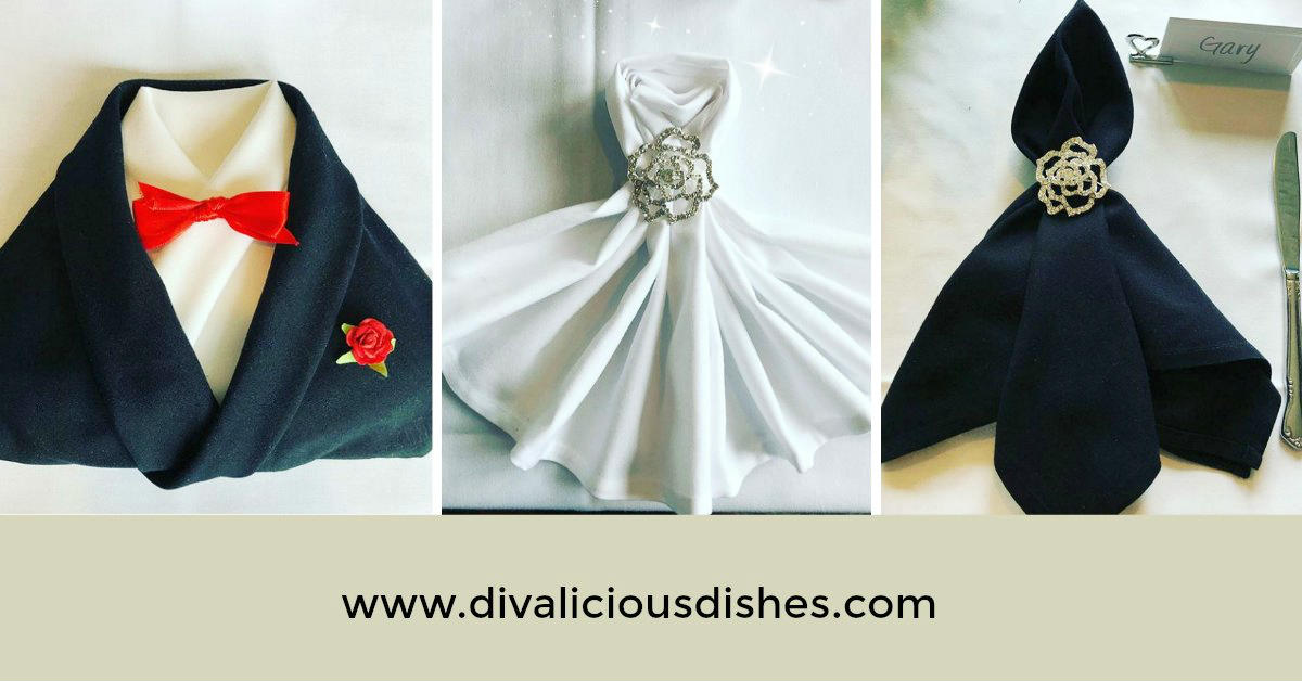 Wedding Napkin Folding 2 Gala In The Kitchen