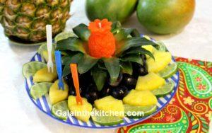 Photo Pineapple Crown Decor