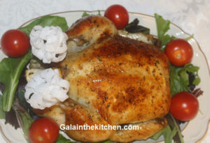 Photo Rosemary Lemon baked chicken
