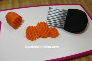 Photo Carrot Garnish Waffles
