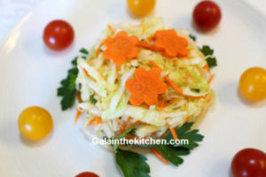Photo Carrot garnish ideas cabbage salad