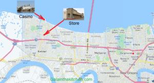Photo Map Russian Store Kenner Casino