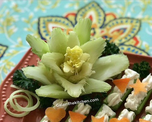 Easy Celery Garnish Ideas