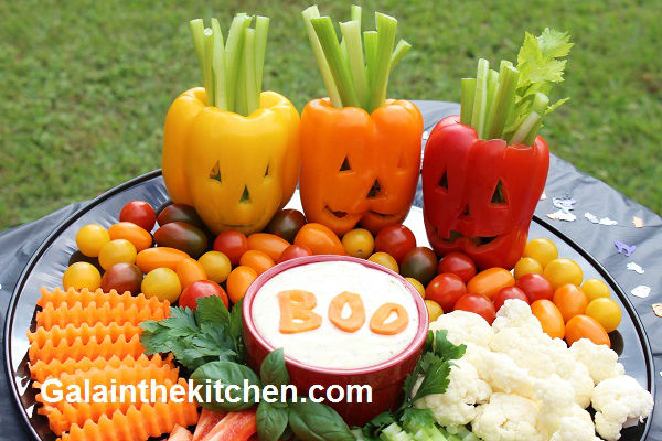 3 Easy Halloween Food Decoration Ideas - Gala in the kitchen