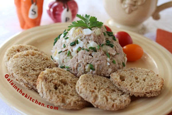 Russian Tuna Salad Recipe With Egg And Onion Gala In The Kitchen